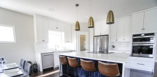 מטבחים מעוצבים לבית עם עיצוב יוקרתי וקלאסי