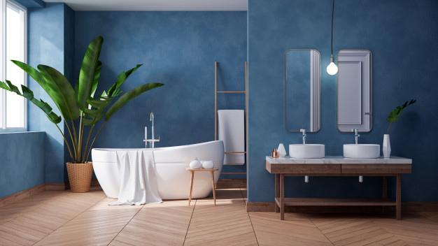 ריהוט עץ לאמבטיה